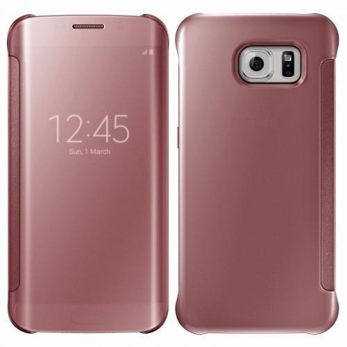 Flip калъф Wallet за Huawei P9 Lite Розово Злато
