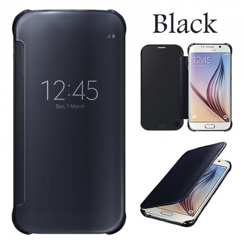 Flip калъф Wallet за Samsung G935 Galaxy S7 Edge Черен