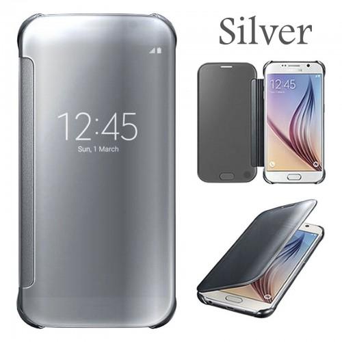 Flip калъф Wallet за Samsung Galaxy S8 Plus Сребърен